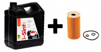 Aceite para Ford Eni i-Sint Tech F 5w30 5L + Filtro aceite Mahle
